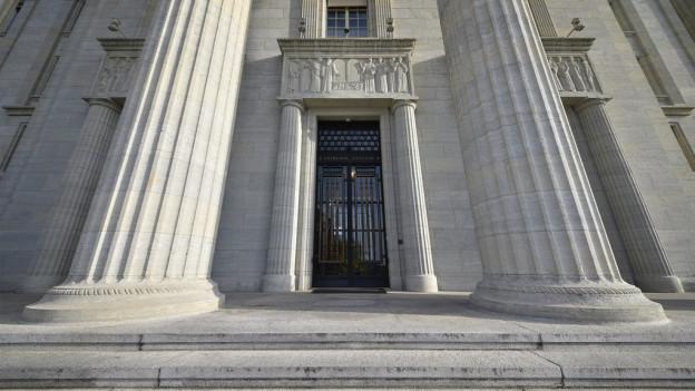 Eingangsportal des Bundesgericht