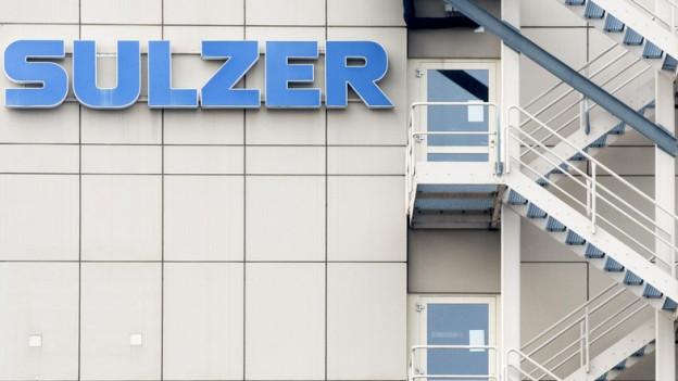 """Gebäude mit Aufschrift """"Sulzer"""""""