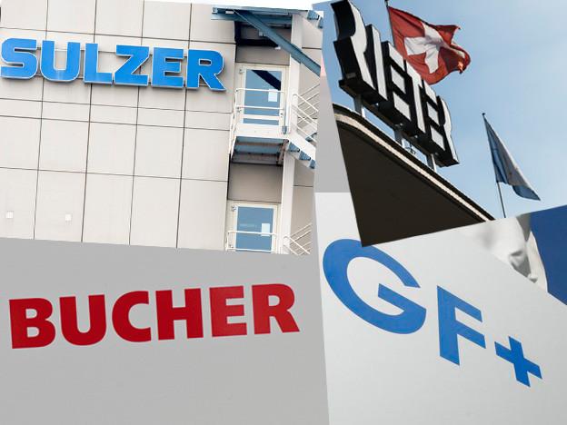 Grosse Industrie-Unternehmen in der Region Zürich Schaffhausen.