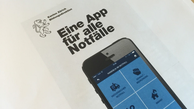 Foto der App.