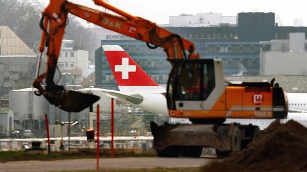 Wachstum sei am Standort Kloten nur noch beschränkt möglich, so der Flughafen-Finanzchef.