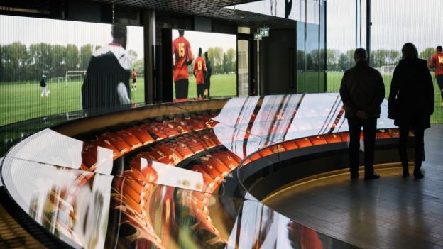 Begehrte Displays: Das Fifa-Museum ist gut besucht.