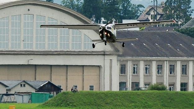 Es wird weiterhin geflogen auf dem Flugplatz Dübendorf.