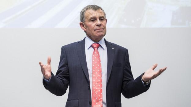 Finanzdirektor Ernst Stocker