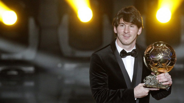 Lionel Messi beim Ballon d'Or 2016 in Zürich.
