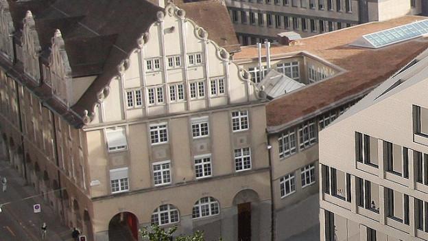 Altstadthaus, in dem dereinst Standortförderung und Tourismus unter einem Dach vereint werden sollen.