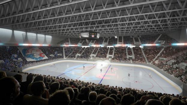 Die ZSC Lions können ihre Arena in Zürich-Altstetten bauen.