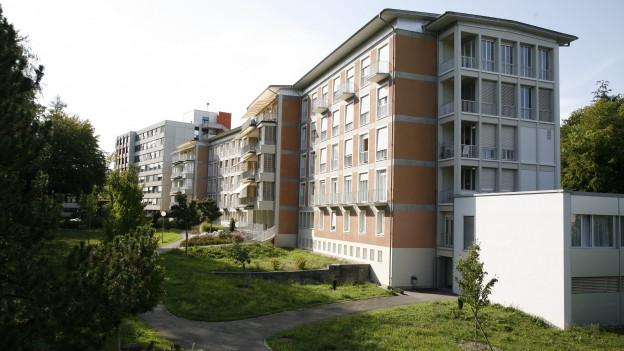 Das Kantonsspital Schaffhausen, wie es sich heute präsentiert