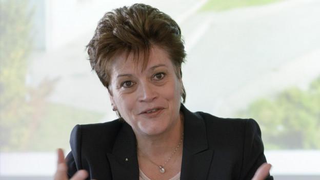 Die Zürcher CVP-Regierungsrätin Silvia Steiner.