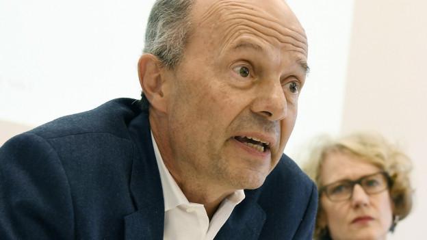 Der Zürcher Sicherheitsvorsteher Richard Wolff
