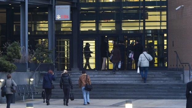 UBS-Verwaltungszentrum in Zürich Altstetten