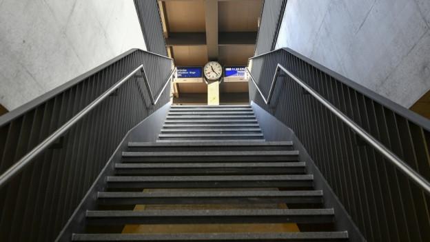Einweihung des neuen Bahnhofs Oerlikon