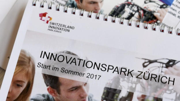 Bald zieht Leben ein im Innovationspark in Dübendorf.