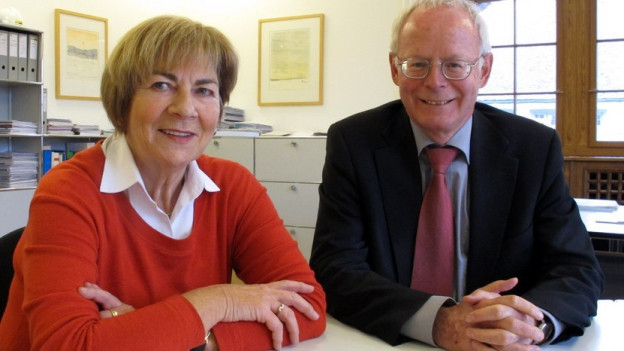 Reto Dubach und Ursula Hafner