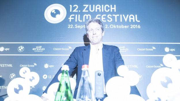Hugh Grant am diesjährigen Zürich Film Festival.