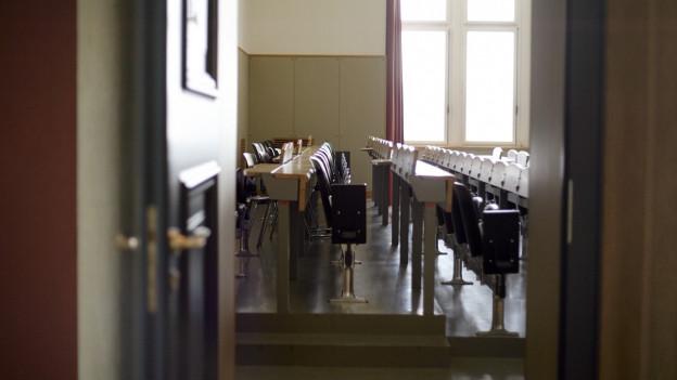 Blick in einen Hörsaal der Universität Zürich