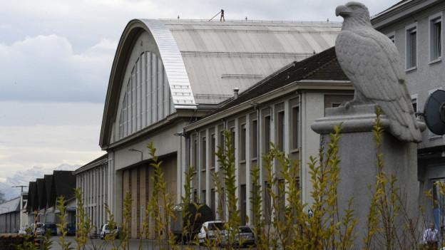 Hangar des Flugplatzes Dübendorf