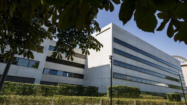 Das Gebäude des Gefängnisses Limmattal