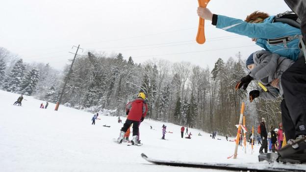 Skilift Dietikon ist nun auch in Betrieb