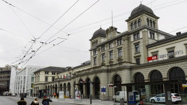 Der Bahnhof Winterthur