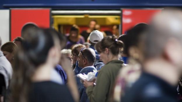 S-Bahn-Pendler sind von der neuen Limite nicht betroffen.