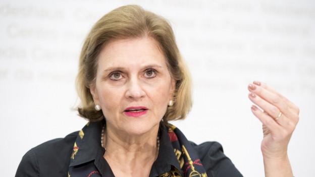 Bildlegende: «Wenn ich Stadträtin würde, würde sich ein Bogen schliessen»: Doris Fiala schielt auf einen Sitz in der Stadtregierung.