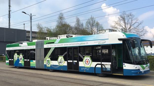 neuer Elektro-Trolleybus der VBZ