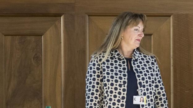 Karin Egli-Zimmermann, neue Präsidentin des Zürcher Kantonsrates 2017