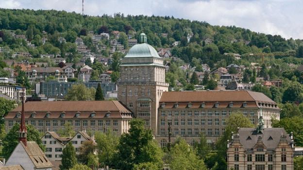 Die Universität Zürich.