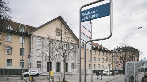 Aussenaufnahme des Zürcher Bezirksgerichts