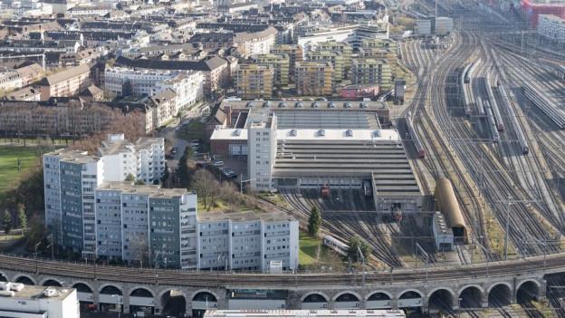 Bildlegende: An der Neugasse soll ab dem Jahr 2020 eine neue Siedlung entstehen. Doch wie viele davon sollen gemeinnützig sein?