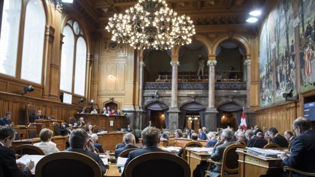 Der Ständerat diskutiert die Steuervorlage 17
