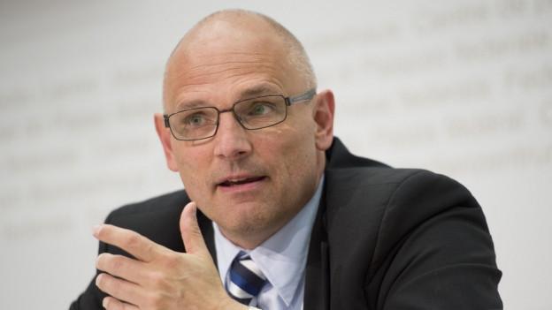 Alfred Heer politisiert seit 2007 als Nationalrat im Bundeshaus.