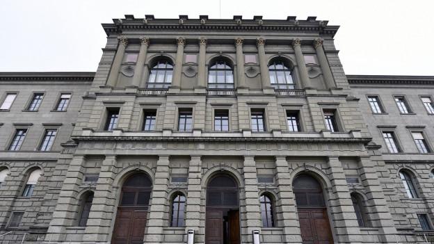 Das ETH-Hauptgebäude.