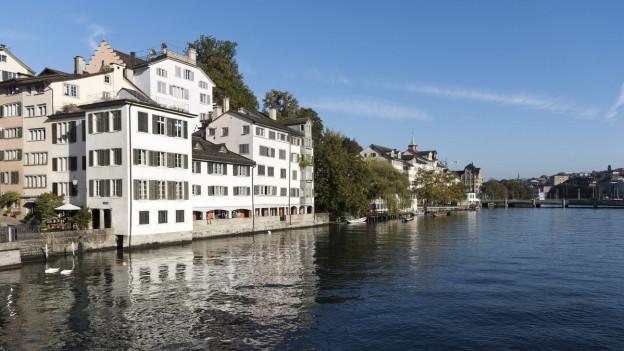 Städtische Wohnungen an der Schipfe in Zürich.
