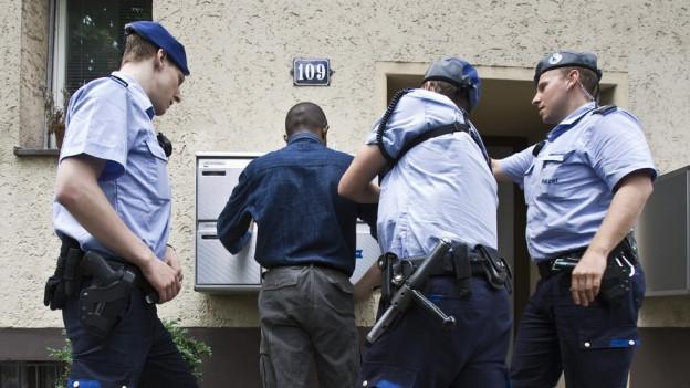 Zürcher Stadtpolizei darf sich nicht auf Bauchgefühl verlassen