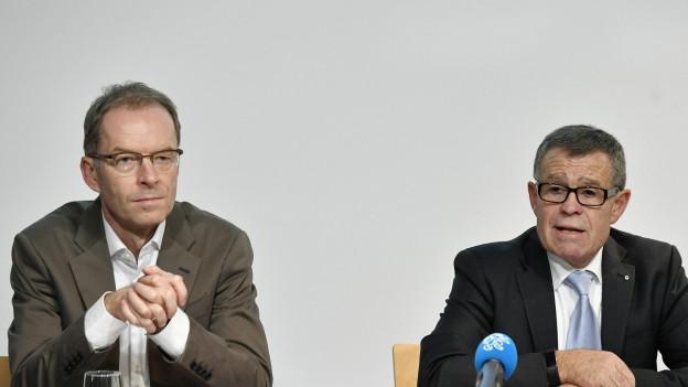 Ernst Stocker und Daniel Leupi