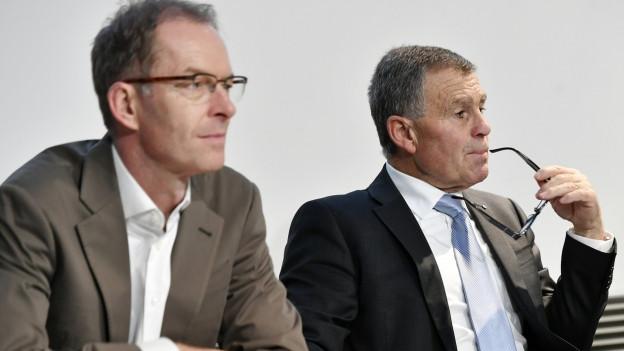 Daniel Leupi und Ernst Stocker.