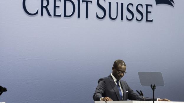 Tidjane Thiam und seine Crédit Suisse wollen weiter sparen.