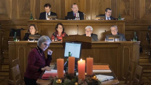 Budgetberatung im Zürcher Kantonsrat