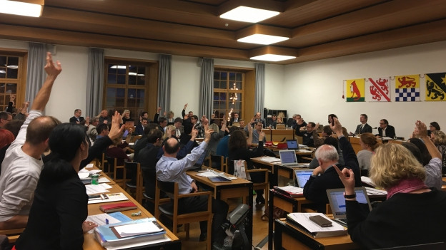 Gute Stimmung im Winterthurer Parlament.