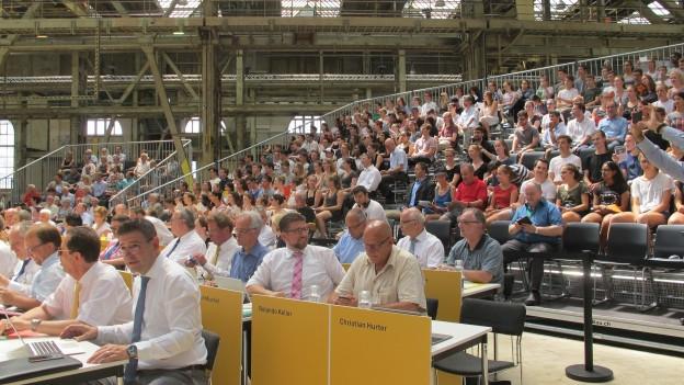 Der Kantonsrat sitzt und schwitzt an Jubiläumsanlass «100 Jahre Proporz»