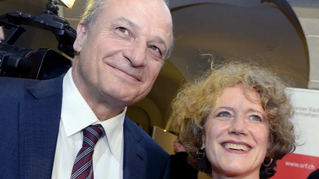 Filippo Leutenegger und Corine Mauch.