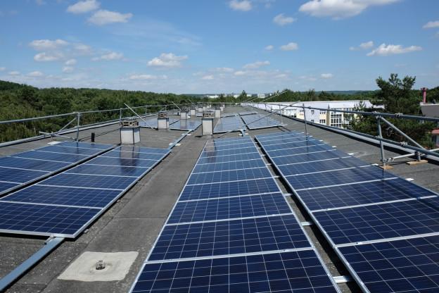 Solaranlagen auf Hausdach
