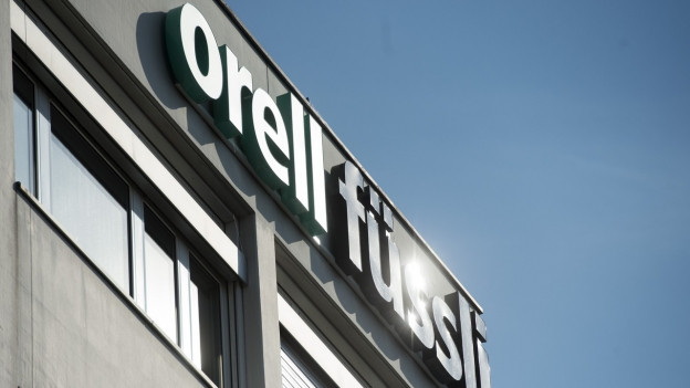 Das Logo des Orell Füssli-Konzerns.