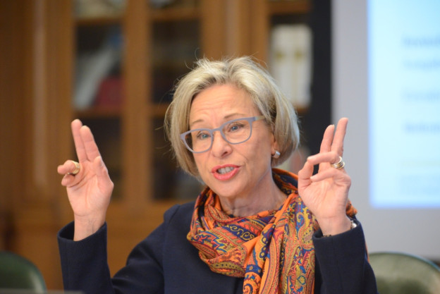 Rosmarie Widmer-Gysel tritt aus der Schaffhauser Regierung zurück.