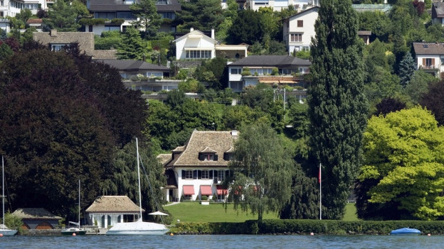 95 Prozent des Zürichseeufers besteht aus sogenanntem Konzessionsland.