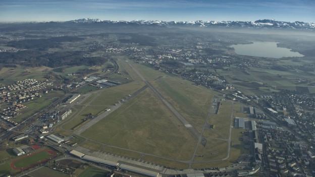 Hier soll weiter geflogen werden: Der Flugplatz Dübendorf