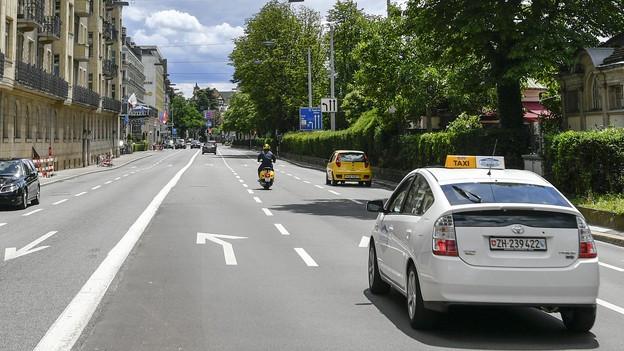 Bellerivestrasse in der Stadt Zürich