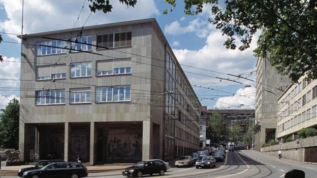 Das Verwaltungszentrum Walche in Zürich.